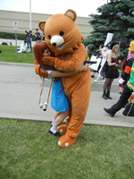 Anime North 2012 - Pedobear Cosplay by jmcclare