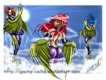 ...HaRpIe LaDyS In ThE SkY... by GACHY-CELTA