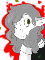 Grayscale Red by XPyro-Undead