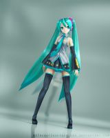 .:Miku-Chan:. by xXFreakyUnderworldXx