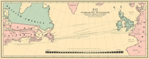 Submarine Telegraph Between America and Europe by CourageousLife