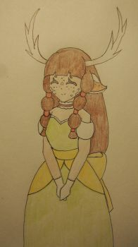 Deer Lady by CheshireRabbit98