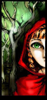 little red riding hood by alizarin