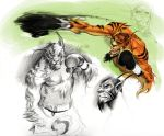 Inner G -Tuff The Tiger by ChaseConley
