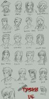 PdS Characters Dessign by Darth-Longinus