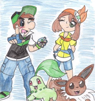 Pokemon: Luigi and Daisy by Luigi-Daisy-Club