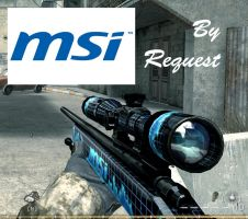 MSI skin for M40A3 (CoD4) by GuMNade