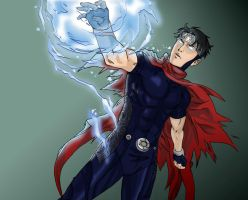 Young Avengers: Wiccan by ironspectre