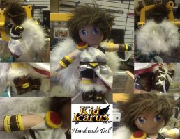10inch Pit Kid Icarus detailed plush Anime Doll by chi171812