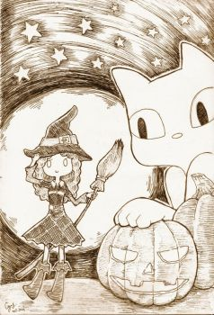 Witch by quttles