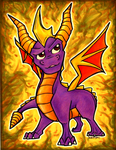 Spyro the Dragon by entei