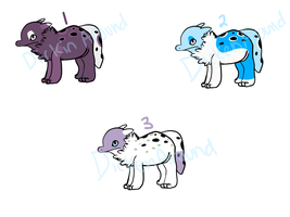 BubbleButt adopts by ForTheLoveOfWalrus