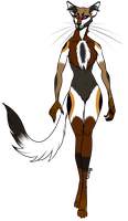 Female Anthro Cat Auction by AdoptsFTW