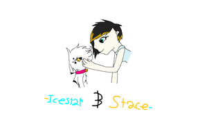 Icestar and Stace by Helkie-three