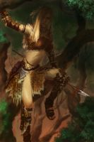 Amazon huntress by XiaMan
