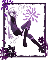 Blooming Violets by LeaOfSorrow