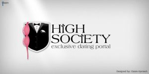 High Society Logo Concept by pixelbudah