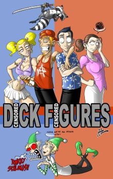Dick Figures Stylized by Blunt-Katana