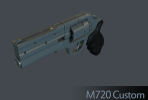 M720 Custom .357 Revolver WiP by Kosai106