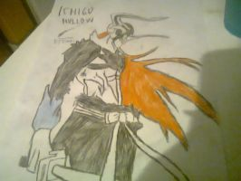 Ichigo Hollow by ShadowRocker3000