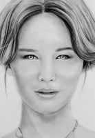 Jennifer Lawrence by EnniArt