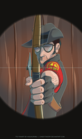 TF2: Sniper Vs. Sniper by candytheory