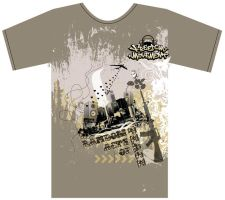 Freedom Movement T-Shirt by mz4design