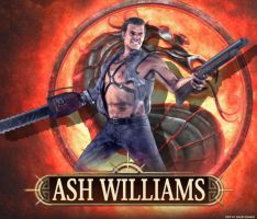 Mortal Kombat DLC Ash Williams by ultimate-savage