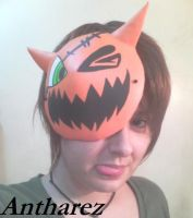 Pumpkin Mask Halloween (Kingdom Hearts) by Antharez