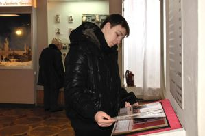Hleb and Museum book by Lyutik966