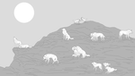 Mountain Wolves by TheSodaSmuggler