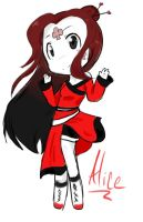 Alice Chibi by AskIce-Princess