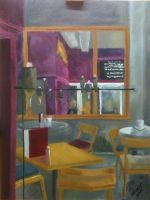 Impressionist Interior by dianaprobst