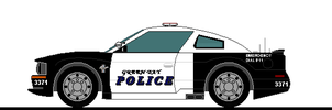 GREEN BAY POLICE MUSTANG by wolvesone