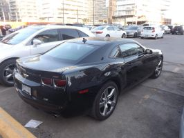 The Black Camaro In The Parking Lot #3 by Neville6000