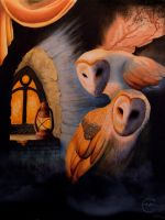 Mill Owls by The-Night-Owless