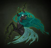 Queen Chrysalis by Malliya