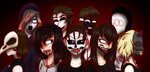 Those Of The Other Side +Speedpaint by Corrupted-Soul13