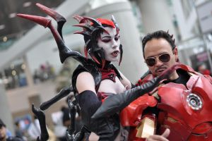 Anime Expo 2013 : Faces of Cosplay_0005 by JuniorAfro