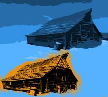 That Funky Old Barn by skoticus