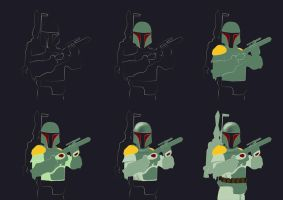 Boba Fett is coming by acantarela