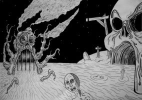 where the lost souls go by offermoord
