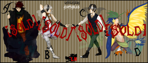 Adoptables Set 1 -Auction- (closed) by LawlHyena
