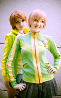 You Are Me (Persona 4 Cosplay, Chie + Shadow Chie) by AmaRobot