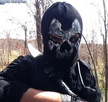 Call of Duty Ghosts Ajax Cosplay (Mask) by SPARTANalexandra