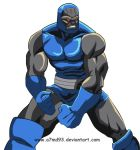 Darkseid #D Alphabet Characters Drawing Challenge by a7md93
