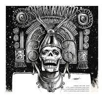 Ah-Puch, Mayan God of Death by LostonWallace