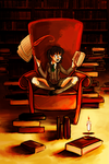 library by hazumonster
