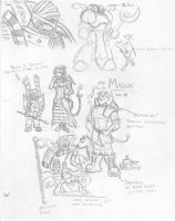 Madox sketches by eightball6219