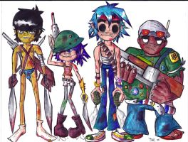 Personal Zombie Killers by Lilymint7